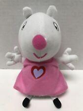 "2003 Peppa Pig Suzy Sheep 8"" Plush Stuffed Animal Toy"