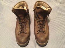 Vtg. 90s Original Danner Gore-Tex Hiking/Work Boots Leather/Canvas Sz 8 1/2 D