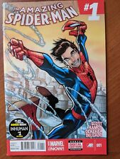 AMAZING SPIDER-MAN #1 NM 2014 1ST APPEARANCE CINDY MOON (SILK) NEW MOVIE!