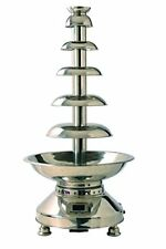 Martellato 20-4000 Stainless Steel Chocolate Fountain, 440 x 1000 mm, Silver
