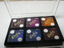 3/4 inch Saleman Casino Dice Sample Box