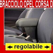 OPEL CORSA E NUOVO MODELLO  DAL 2015 bracciolo REGOLABILE - portaoggetti