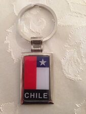 Chile Flag Keychain # 4.