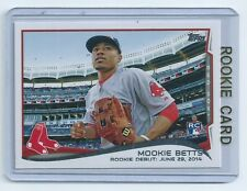 Mookie Betts 2014 Topps Rookie Card RC US-301   qty