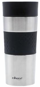 Coffee to go Becher / Thermobecher / Kaffeebecher 360 ml, schwarz
