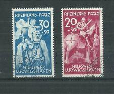 RHEINLAND 1948 EXPLOSION FUND SET FINE USED