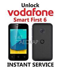 Unlock Code Vodafone Smart First 6 VDF695 Via IMEI Service
