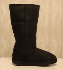 Emu Brown Stinger Tall Genuine Sheepskin Wool Lining Warm Boots UK 7 40 W9 £179