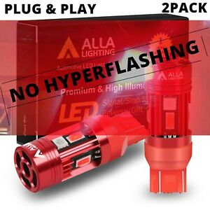 LED Rear Red Plug & Play 7528 CANBUS Turn Signal Lamp,🚫Resistor/Flasher Relay