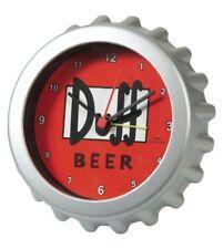 Orologio Simpsons Alarm Clock Duff Beer United labels