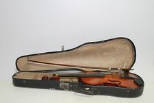 Old Rare Fiddle Violin Musical Instrument Bulgarian Fabric Cremona