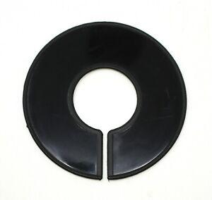 Black Round Plastic Blank Rack Size Dividers - Multi-Pack