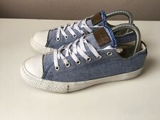 CONVERS ALL STAR junior unisex blue trainers size 4/37