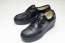 SAS 7 Black Lace Up Women's Shoe