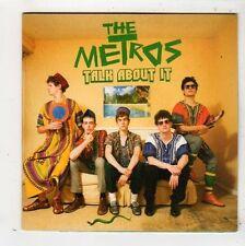 (FZ465) The Metros, Talk About It - 2008 DJ CD