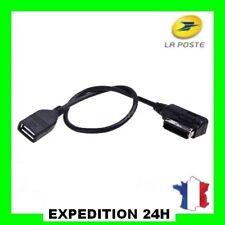 Interface AMI MMI to USB Cable Adaptateur pour Audi A3 A4 A5 A6 A8 Q5 Q7 Q8