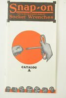 Snap-on Tools Catalog A - 2010 90th Anniversary Re-Print - New Old Stock