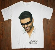 GEORGE MICHAEL / 25LIVE USA TOUR / TWENTY FIVE 25 LIVE / WHITE T- SHIRT SIZE M