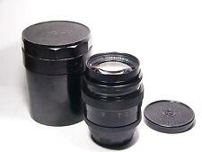 Jupiter-9 #6909011 lens 2/85mm M39/Leica mount sonnar copy