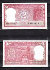 INDIA IN ASIA,1 PCE OF 2 RUPEES 1985, P-53A, R.N.MALHOTRA, WITH PIN HOLE, UNC