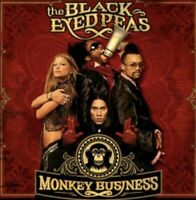 ** The Black Eyed Peas** SET OF  2 ELEPHUNK& Monkey Business Cd's - VERY GOOD!
