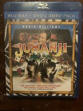 Jumanji - Blu-Ray Robin Williams Brand New Sealed
