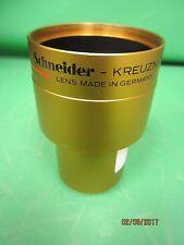 Schneider Kreuznach 65mm Super Cinelux 35mm Cine Projector Lens