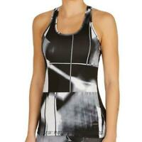 bjorn womens black and white tank top active wear womens size8 *REF20