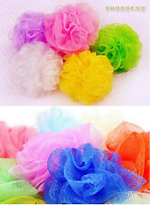 2x Bath Shower Soap Bubble Soft Body Wash Exfoliate Puff Sponge Mesh Net Ball