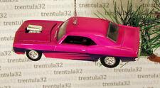 '69 CHEVY CAMARO 1969 CHEVROLET PINK/MAGENTA/PURPLE CHRISTMAS TREE ORNAMENT XMAS