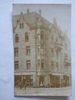 Ansichtskarte Karlsruhe 1910 Eckhaus Lampengeschäft Jörg Foto-PK