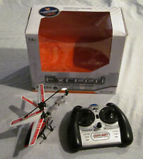 EXCEED RED 3 CHANNEL IR RC HELICOPTER TRIBAND TECHNOLOGY GYROSCOPE 777163