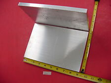 "2 Pieces 1/2"" X 6"" ALUMINUM 6061 FLAT BAR 9"" long Solid T6511 Plate Mill Stock"