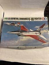 Tamiya 1/48 U.S. General Dynamics F-16 Fighter Model Kit