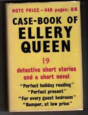 Case-Book of Ellery Queen by Ellery Queen (Gollancz) File Copy