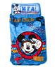Disney Mickey Mouse Kids Rolled Nap Mat Sleeping Bag Blanket Flight Academy Blue