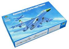 Trumpeter 9361661 Suchoi Su-27 Frühe Version 1:72 Kampfflugzeug Modellbausatz
