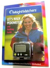 Weight Watchers Let's Walk Pedometer and Walking Guide New