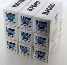 ILFORD Nine Rolls of Delta 100 120 Film 100iso. Outdated 07/2006