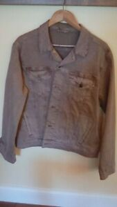 Mens Lucky Brand trucker jacket size large