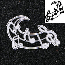 Music Notes Cutting Dies Stencil DIY Scrapbooking Album Card Embossing Craft