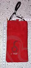 Strahlenschutz HANDYTASCHE f. Samsung Galaxy eWall rot Art 04.210 NEU µ