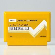 Nuevo everdrive N8 (Dendy/Famicom Ver.), krikzz original, ranura SD, Amarillo