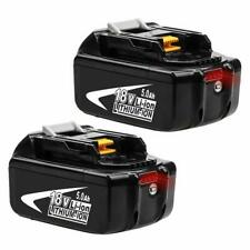 2x 5.0Ah 18V Lithium Ion Battery For Makita BL1860 BL1850 BL1840 BL1830 LXT