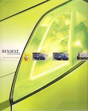 Renault Megane 3-dr & 5-dr Berlina 2002-03 Portuguese Market Sales Brochure