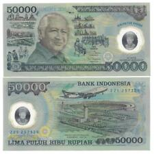 INDONESIEN INDONESIA 50000 50.000 RUPIAH 1993 POLYMER UNC P 134 a