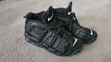 Nike air x supreme uptempo black reflective trainers UK 8, EUR 42.5, 902290-001