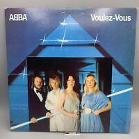 ABBA Voulez Vous Album 1979 Vinyl Record - Atlantic - RCA Music Service