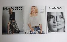 MANGO 3 x Fashion Catalogue KATE MOSS & Cara Delevingne 2015 & 2012 NEW