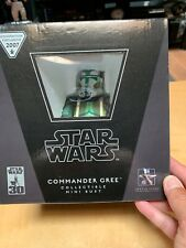 GENTLE GIANT Star Wars COMMANDER GREE Mini Bust Exclusive NIB 0862/2500 ROTS